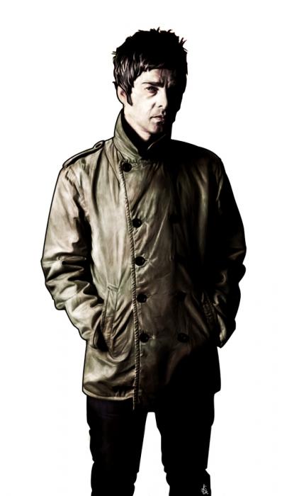 Noel Gallagher by lokiangel87